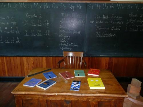 scrivania del docente
