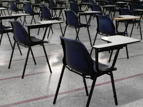 aula per gli esami di stato
